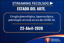 Cirugía ginecológica, laparoscópica, patrología cervical en era de COVID-19
