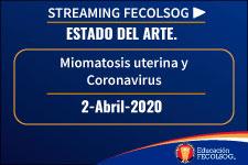 Miomatosis uterina y Coronavirus