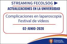 Complicaciones en laparoscopia – Festival de vídeos