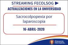 Sacrocolpopexia por laparoscopia