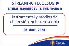 Instrumental y medios de distensión en histeroscopia