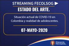 Situación actual de COVID-19 en Colombia y realidad de adolescentes